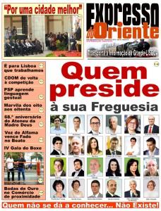 1ª pag EXPRESSO do Oriente 92 Novembro 2013 NET