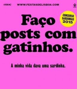 Concurso Sardinhas 2015