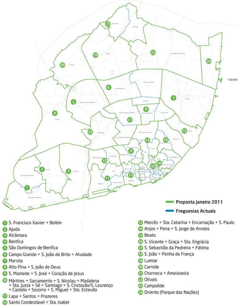 mapa freguesias lisboa 2013 Jornal Expresso do Oriente » Lisboa mais perto das 24 freguesias mapa freguesias lisboa 2013