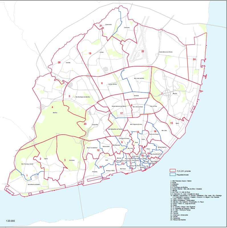 novas freguesias lisboa mapa Jornal Expresso do Oriente » Novo mapa de freguesias aprovado pela  novas freguesias lisboa mapa